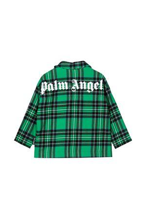 Green and black shirt PALM ANGELS KIDS | 5032334 | PBGA001F21FAB0015510