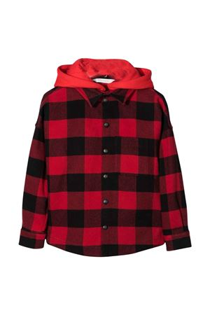 Black and red shirt PALM ANGELS KIDS | 5032334 | PBGA002F21FAB0012501