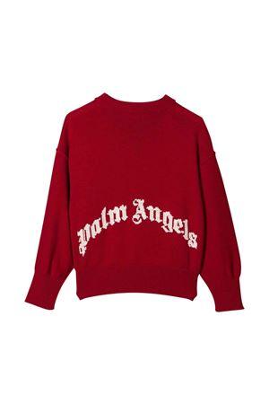 Red t-shirt with white print PALM ANGELS KIDS | 7 | PBHA001F21KNI0012501