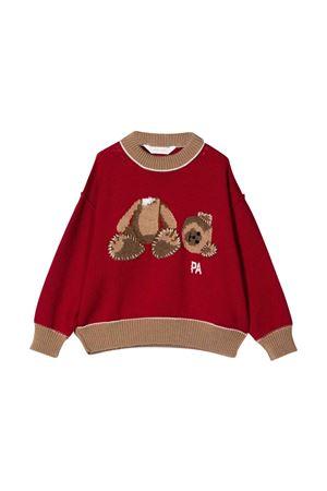 Red and brown shirt Palm Angels kids PALM ANGELS KIDS | 7 | PBHA001F21KNI0022560