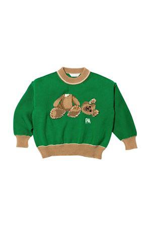 Green and brown shirt with print Palm Angels kids PALM ANGELS KIDS | 7 | PBHA001F21KNI0025560