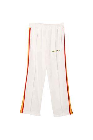 Pantalone bianco con bande multicolor PALM ANGELS KIDS   9   PGCA002F21FAB0030184