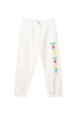 Pantalone bianco con stampa multicolor PALM ANGELS KIDS   9   PGCH001F21FLE0010184