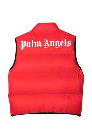 Gilet imbottito con stampa PALM ANGELS KIDS   38   PGEA001F21FAB0012501