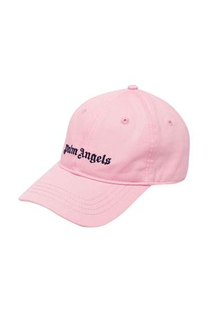 Cappello rosa con stampa PALM ANGELS KIDS   75988881   PGLB001F21FAB0013046