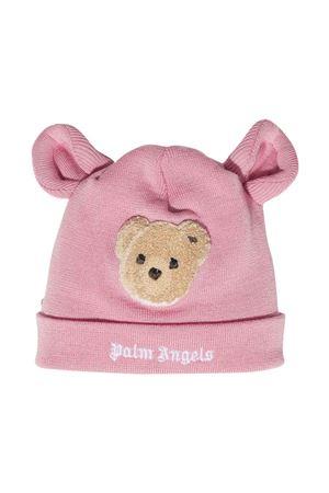 Cappello rosa con applicazioni PALM ANGELS KIDS   75988881   PGLC002F21KNI0013060