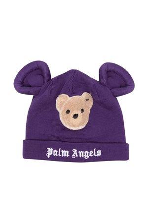 Cappello viola con applicazione PALM ANGELS KIDS   75988881   PGLC002F21KNI0013760