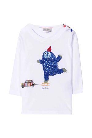T-shirt bianca PAUL SMITH JUNIOR | 8 | P0506510P