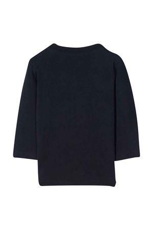 T-shirt blu con stampa PAUL SMITH JUNIOR | 8 | P0507183D