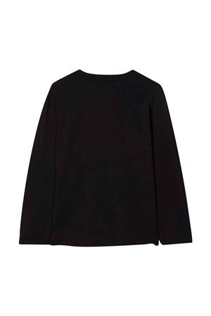 T-shirt nera con stampa multicolor PAUL SMITH JUNIOR | 8 | P2521909P