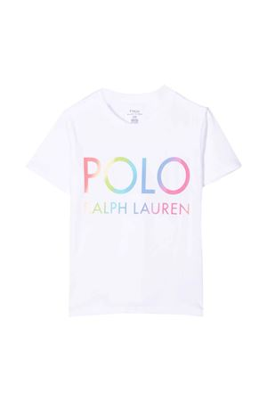 white t-shirt  RALPH LAUREN KIDS   8   312841391001