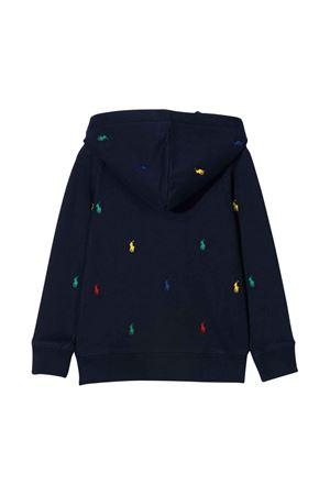 unisex blue sweatshirt  RALPH LAUREN KIDS | -108764232 | 312844937001