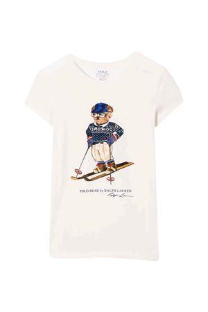 T-shirt bianca bambina RALPH LAUREN KIDS | 8 | 312853435001