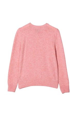 Maglia teen rosa con logo RALPH LAUREN KIDS | 7 | 313800168006T