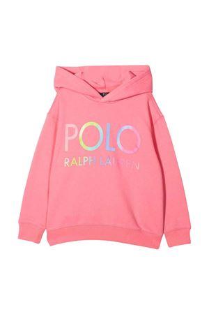 Felpa rosa bambina RALPH LAUREN KIDS | -108764232 | 313841397001