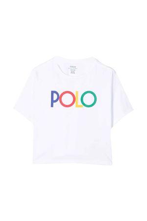 White teen t-shirt  RALPH LAUREN KIDS | 8 | 313844859002T
