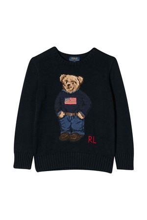 Blue shirt unisex  RALPH LAUREN KIDS | 7 | 322668286001