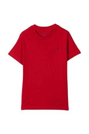 red t-shirt  RALPH LAUREN KIDS | 8 | 322832904038