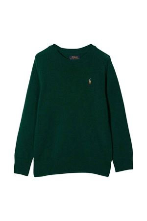 Maglione verde bambino RALPH LAUREN KIDS | -1384759495 | 322850966002