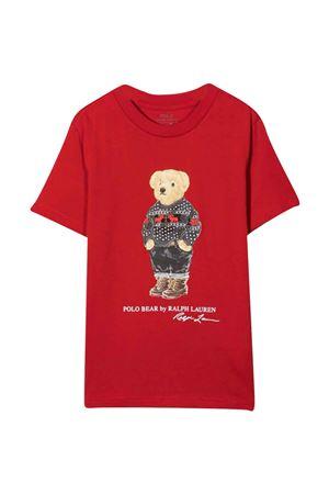 T-shirt rossa bambino RALPH LAUREN KIDS   8   322853790001