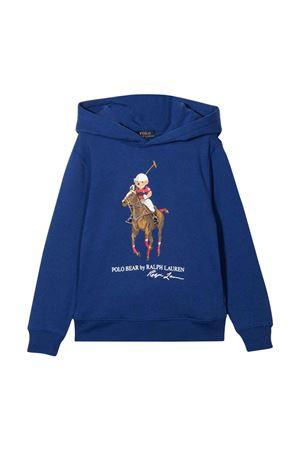 Blue boy sweatshirt  RALPH LAUREN KIDS | 7 | 322853795001