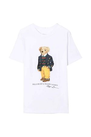 White boy t-shirt  RALPH LAUREN KIDS | 7 | 322853828005