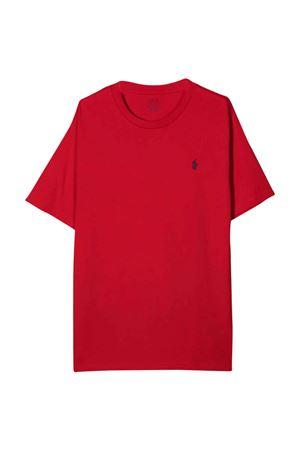 red t-shirt  RALPH LAUREN KIDS | 8 | 323832904038