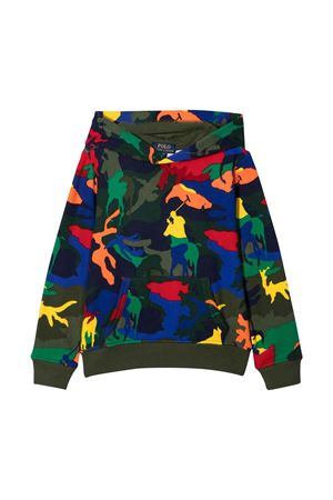 green teen sweatshirt  RALPH LAUREN KIDS   -108764232   323844800001T