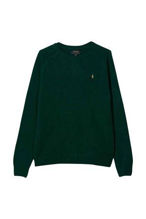 Maglione verde bambino RALPH LAUREN KIDS | -1384759495 | 323850966002