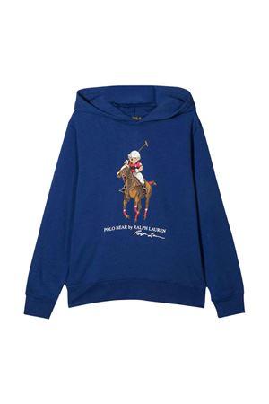 blue sweatshirt  RALPH LAUREN KIDS | 7 | 323853795001