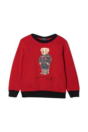 Felpa rossa bambino RALPH LAUREN KIDS   7   323853820001