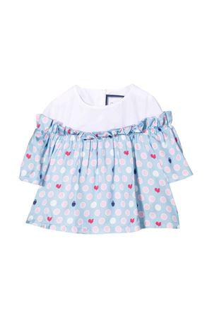 T-shirt neonata azzurra Simonetta   5032334   1P5041S0015607