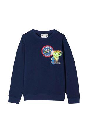 blue sweatshirt  STELLA MCCARTNEY KIDS   -108764232   602247SQJ484018