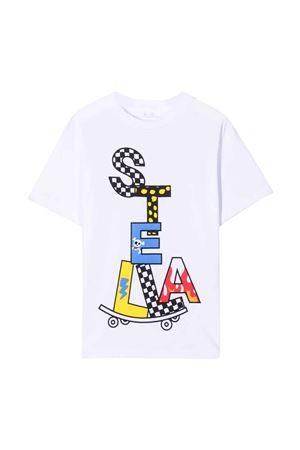 White t-shirt STELLA MCCARTNEY KIDS | 8 | 602253SQJ929000