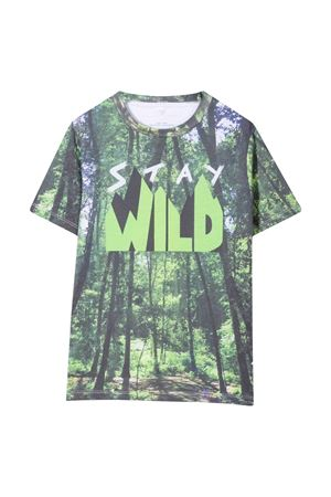 jungle t-shirt STELLA MCCARTNEY KIDS   8   602253SRJ999000