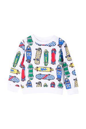 Newborn patterned sweatshirt  STELLA MCCARTNEY KIDS | -108764232 | 602269SQJ33H921