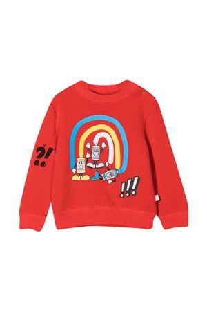 newborn red sweatshirt  STELLA MCCARTNEY KIDS | -108764232 | 602269SRJ636024