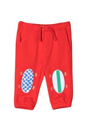 Red baby joggers STELLA MCCARTNEY KIDS | 9 | 602286SQJ306013