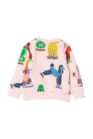 newborn pink sweatshirt  STELLA MCCARTNEY KIDS | -108764232 | 602594SRJ58G502