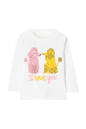 newborn white sweatshirt  STELLA MCCARTNEY KIDS | 8 | 602598SRJ989100
