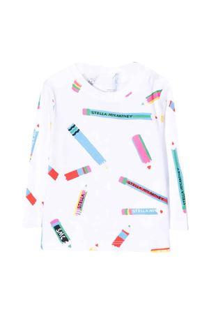 unisex white t-shirt  STELLA MCCARTNEY KIDS | 8 | 602598SRJA9G911