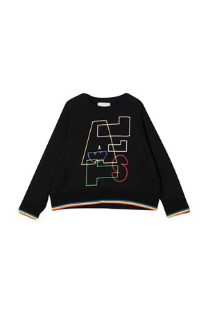 unisex black sweatshirt  STELLA MCCARTNEY KIDS | -108764232 | 602645SRJ221000