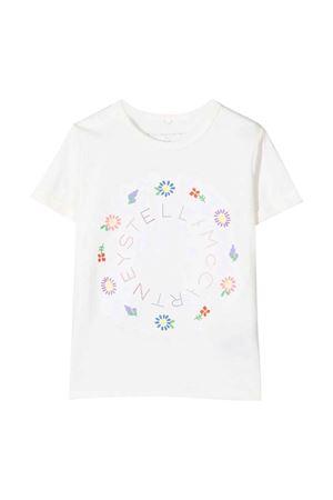 white t-shirt  STELLA MCCARTNEY KIDS   8   602652SQJE69100