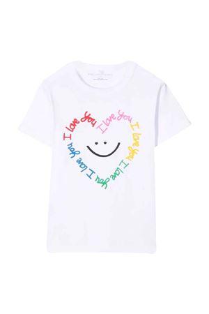 T-shirt bianca bambina STELLA MCCARTNEY KIDS | 8 | 602652SRJF79100