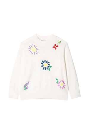 white girl sweater  STELLA MCCARTNEY KIDS   7   603008SQM059100