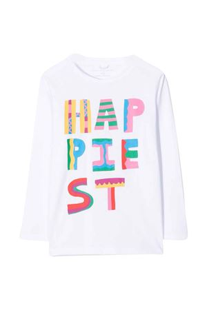 T-shirt bianca bambina STELLA MCCARTNEY KIDS | 8 | 603012SRJ529000