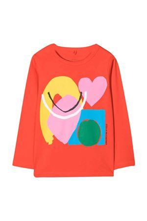 unisex red t-shirt  STELLA MCCARTNEY KIDS | 8 | 603012SRJA26512
