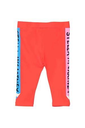 red newborn leggings  STELLA MCCARTNEY KIDS | 411469946 | 603371SRJ056512
