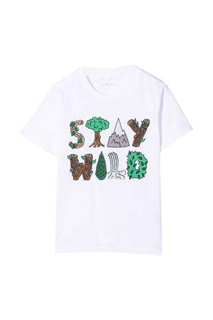 T-shirt bianca neonato STELLA MCCARTNEY KIDS | 8 | 603419SRJA19000