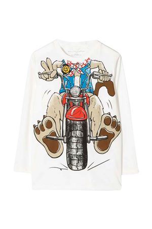 white t-shirt  STELLA MCCARTNEY KIDS   8   603421SRJ799100